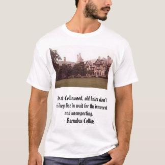 Camiseta Collinwood, aqui em Collinwood, ódios velhos não