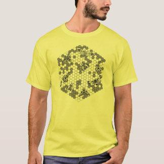 Camiseta Colmeia da abelha Y (retro)