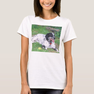 Camiseta Colocação completa do setter inglês