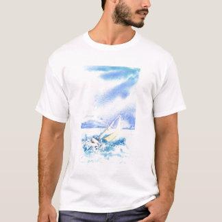 """Camiseta """"Colocado saltos sobre"""" o t-shirt"""