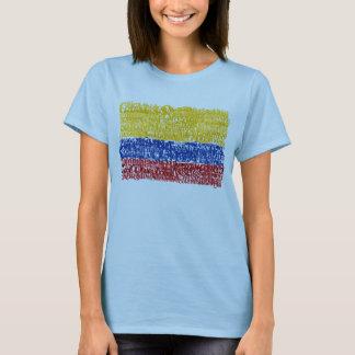 Camiseta Colômbia Textual