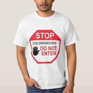 Camiseta Colonoscopia: Não entre