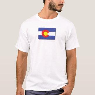 Camiseta Colorado-bandeira