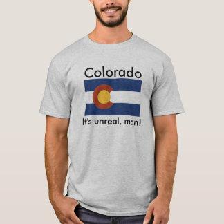Camiseta Colorado, é irreal