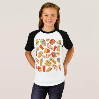 Camiseta Colorful Pattern ilustração Jejuas Food