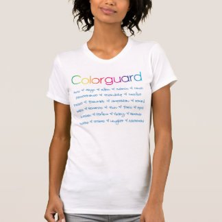 Camiseta Colorguard