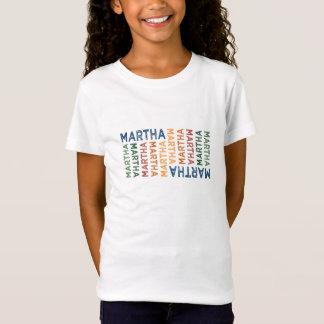 Camiseta Colorido bonito de Martha