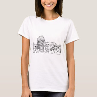 Camiseta colosseum de Roma