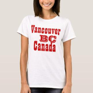 Camiseta Columbia Britânica Canadá de Vancôver