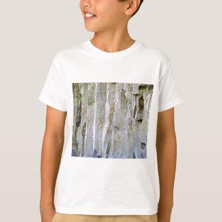 Camiseta Coluna branca estreita da rocha