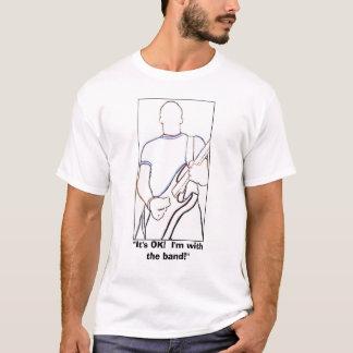 Camiseta Com a banda