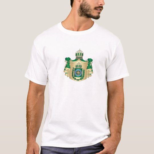 Camiseta com as armas do Império do Brasil. Shirt