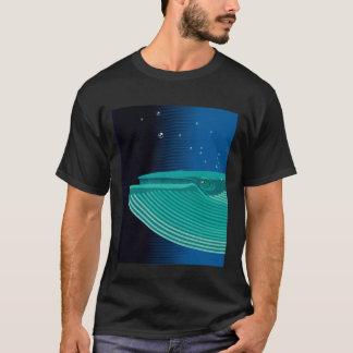 Camiseta com estampa de baleia