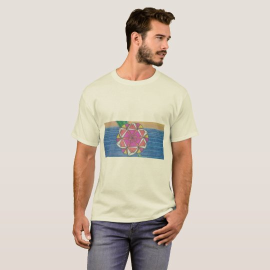 Camiseta com Estampa de Mandala