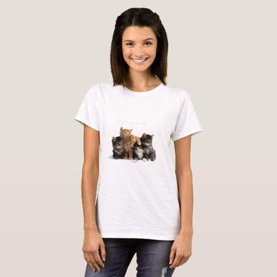 camiseta com gatos