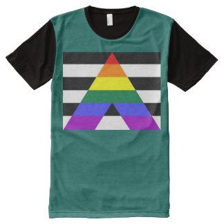 Camiseta Com Impressão Frontal Completa Aliado reto