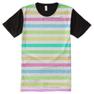 Camiseta Com Impressão Frontal Completa Arco da chuva & venda em linha do comprar