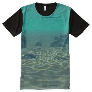 Camiseta Com Impressão Frontal Completa Atlantis