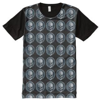 Camiseta Com Impressão Frontal Completa Ball Skull