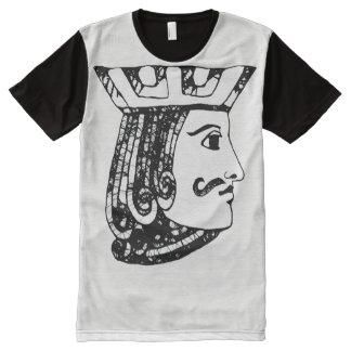 Camiseta Com Impressão Frontal Completa Black Jack