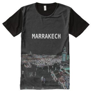 Camiseta Com Impressão Frontal Completa C4marraquexe - Marrocos por todo o lado na