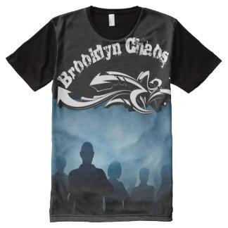 Camiseta Com Impressão Frontal Completa Caos de Brooklyn