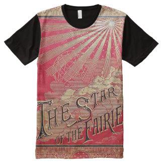 Camiseta Com Impressão Frontal Completa Falln a estrela da capa do livro das fadas