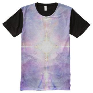 Camiseta Com Impressão Frontal Completa Gosto da divindade 81 V081