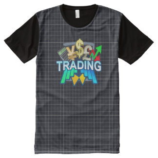 Camiseta Com Impressão Frontal Completa Grade de troca todo o t-shirt impresso