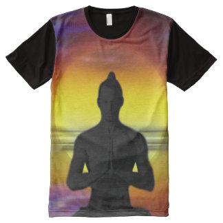 Camiseta Com Impressão Frontal Completa Homem da lua H002