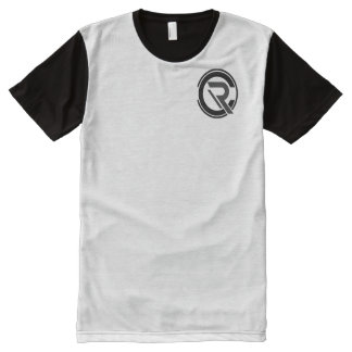 Camiseta Com Impressão Frontal Completa Homens do centro de detecção e de controlo