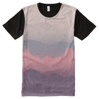 Camiseta Com Impressão Frontal Completa Inverno Sun