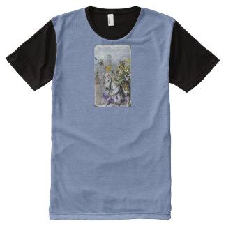 Camiseta Com Impressão Frontal Completa Lança