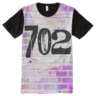 Camiseta Com Impressão Frontal Completa Las Vegas 702