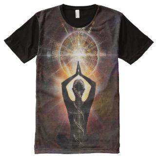 Camiseta Com Impressão Frontal Completa Luz V075 na sombra 31