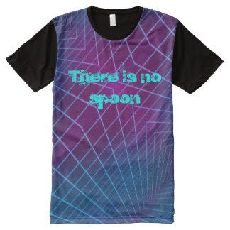 Camiseta Com Impressão Frontal Completa Não há nenhuma colher - t-shirt de Hypermatrix