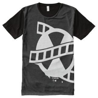 Camiseta Com Impressão Frontal Completa Obtenha a produção de Pix por todo o lado no