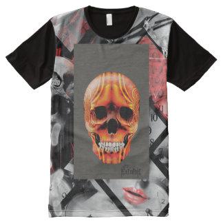 Camiseta Com Impressão Frontal Completa Only Time