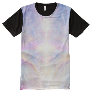 Camiseta Com Impressão Frontal Completa Parte superior do anjo de H117 Adele