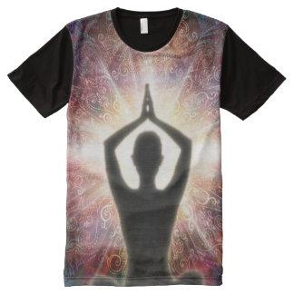 Camiseta Com Impressão Frontal Completa Saudação 2013 da mandala H067