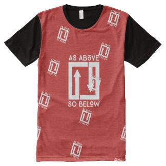 Camiseta Com Impressão Frontal Completa T inclinado de ASAB