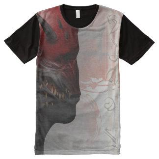 Camiseta Com Impressão Frontal Completa T-shirt de Trigash
