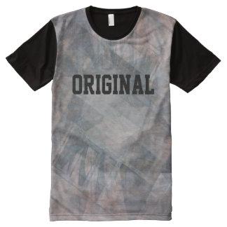 """Camiseta Com Impressão Frontal Completa T-shirt """"original"""" do abstrato"""