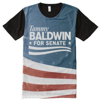 Camiseta Com Impressão Frontal Completa Tammy Baldwin