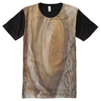 Camiseta Com Impressão Frontal Completa Tempestade de Jupiter