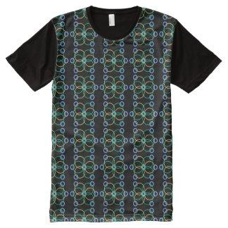 Camiseta Com Impressão Frontal Completa Teste padrão Geo1