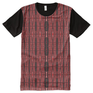 Red black modern pattern