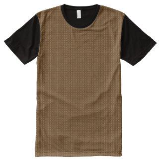 Camiseta Com Impressão Frontal Completa Venda em linha do comprar americano agradável da