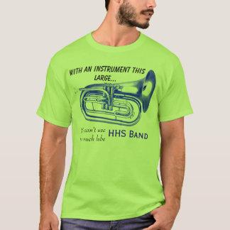 Camiseta Com um instrumento este grande…