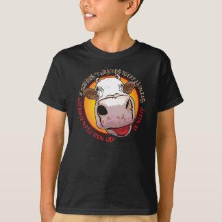 Camiseta Coma a carne